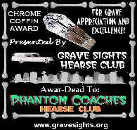 Grave Sights Chrome Coffin Award