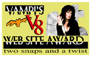 Vampi's V8 web site Award